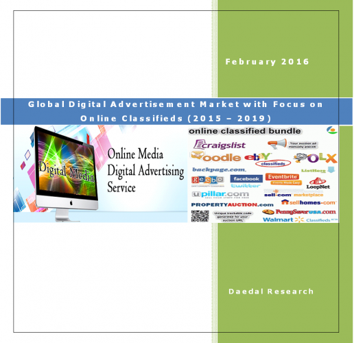 Global Digital Advertisement Market with Focus on Online