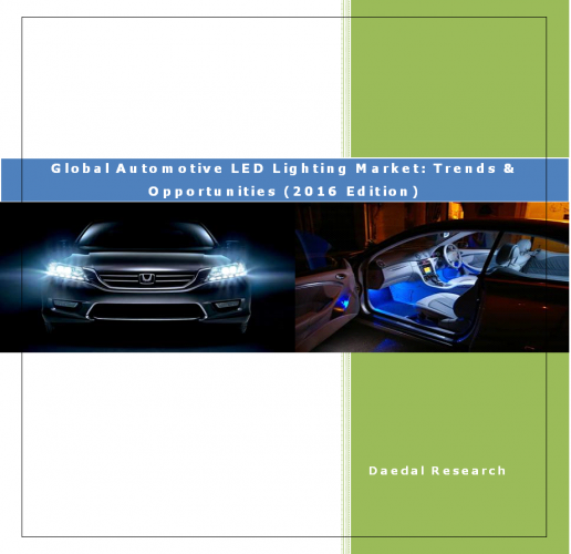 Global Automotive LED Lighting Market: Trends & Opportunities (2016 Edition)