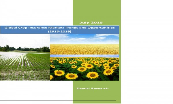 Global Crop Insurance Market (2015-2019) - Research and Consulting Firm
