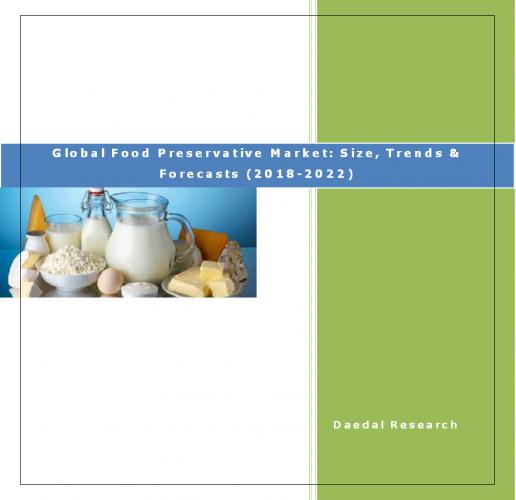 Global Food Preservative Market Report, Food Preservative Market: Size, Trends & Forecasts (2018-2022)