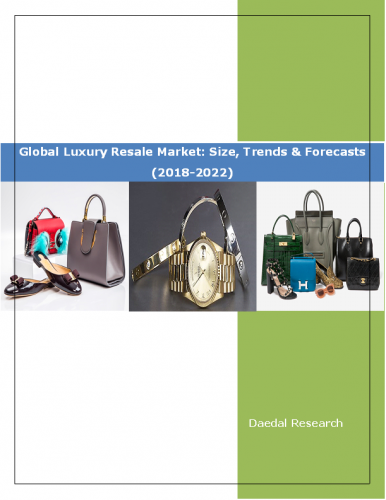 Global Luxury Resale Market Report: Size, Trends and Forecasts (2018-2022)
