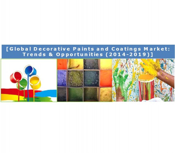Global Decorative Paints and Coatings Market (2014-2019) - Business Research Report