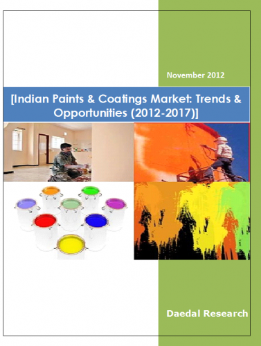 Indian Paint & Coatings Market | Paint & Coatings Market India