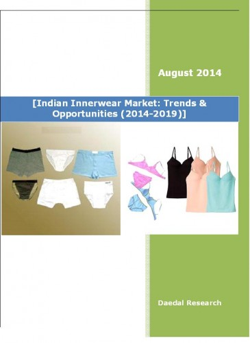 Indian Innerwear Market (2014-2019) - Business Research Report